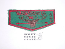 Order of the Arrow Lodge #400 Wawookia f1 Flap Patch