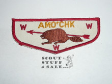 Order of the Arrow Lodge #339 Amo'chk f1a Flap Patch