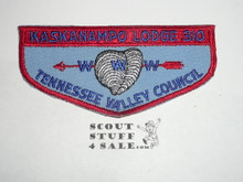 Order of the Arrow Lodge #310 Kaskanampo f2 Flap Patch