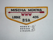 Order of the Arrow Lodge #435 Mischa Mokwa f1 Flap Patch