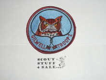Wood Badge Owl Gilwell Troop 1 Patch