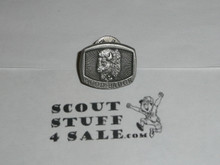Wood Badge Buffalo Patrol Pewter Pin - Scout