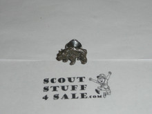 Wood Badge Bear Patrol Tie Tack / Lapel Pin - Scout