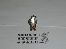 Wood Badge Standing Bear Pin - Scout