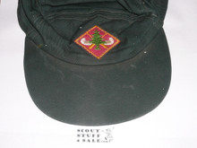 Region Seven Explorer Canoe Base, Diamond Shaped Hat Patch on hat, used