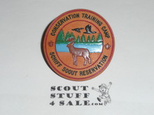 Schiff Scout Reservation, Conservation Training Camp NEAL Neckerchief Slide