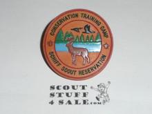 Schiff Scout Reservation, Conservation Training Camp NEAL Neckerchief Slide