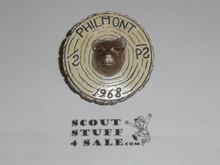 Philmont Scout Ranch Plaster Neckerchief Slide, 1968 Bear