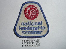 Order of the Arrow National Leadership Seminar Patch, some twill discoloration