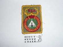 National Camp School c/e Patch, sewn