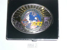 2017 National Jamboree Official Belt Buckle