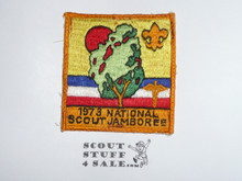 1973 Boy Scout National Jamboree Medical Corps Patch, sewn
