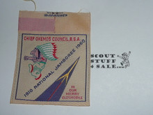1960 National Jamboree JCP - Chief Okemos Council Woven JCP