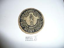 San Gabriel Valley Council Patch (CP) - 50th Anniv