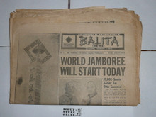1959 World Jamboree, Official Jamboree Newspaper issues 1-10 (missing #8)