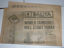 1959 World Jamboree, Official Jamboree Newspaper issue #1, July 17