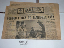 1959 World Jamboree, Official Jamboree Newspaper issue #4, July 20