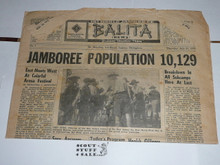 1959 World Jamboree, Official Jamboree Newspaper issue #7, July 23