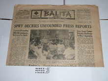 1959 World Jamboree, Official Jamboree Newspaper issue #9, July 25