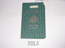 1959 World Jamboree, USA Special Passport for BSA Contingent Member Travel