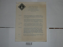 1959 World Jamboree, BSA General Contingent Information Packet