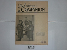 The Lutheran Companion Pamphlet dated Feb 5, 1958 with article about the 1957 National Jamboree