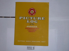 1957 World Jamboree Souvenier Picture Book With Dust Jacket