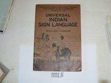 1929 World Jamboree, Universal Indian Sign Language Book