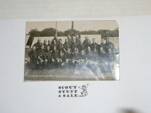 1929 World Jamboree, USA/BSA New York Contingent Picture Photo Postcard