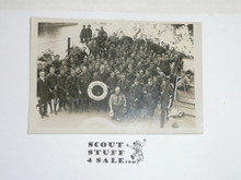 1929 World Jamboree, Contingent Picture Photo Postcard Aboard the Dutchess of Anthole, BSA or CSA