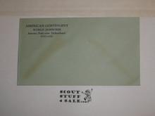 1929 World Jamboree, USA/BSA Contingent Envelope given by Kellogg Co, Unused