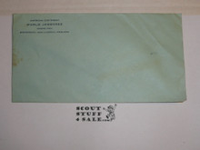 1929 World Jamboree, Official USA/BSA Contingent Envelope, Unused