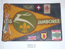 1933 World Jamboree, Photo Album from USA/BSA Contingent Member, 57 Pages