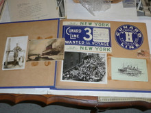 1933 World Jamboree, Photo Album / Scrapbook from USA/BSA Contingent Member, hundreds of items