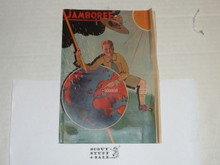 1933 World Jamboree Pamphlet of unknown purpose, was in a scrapbook