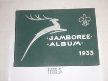 1933 World Jamboree, Official Memory Book/Album with many Photos, 160 Pages