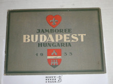 1933 World Jamboree, Memory Book/Album Presented to Jamboree Participants by the City of Budapest