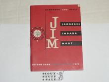 1957 World Jamboree, Jamboree Indaba Moot Handbook and Diary