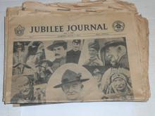1957 World Jamboree, SET of 11 Jamboree Journal Newspapers