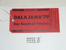 1979 World Jamboree Dalajamb Luggage Tag
