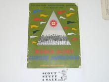 1957 World Jamboree, Official Program