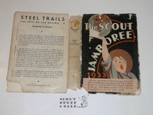 "1933 World Jamboree, Fly Leaf for ""The Scout Jamboree"" a book published by the BSA with accounts from Scouts at the Jamboree, fly leaf only"