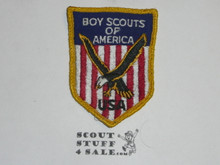 1959 World Jamboree, USA/BSA Contingent Patch, Sewn