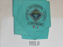 1959 World Jamboree, Negros Occidental Council Philippines Contingent Neckerchief