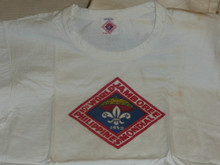 1959 World Jamboree, Official Tee Shirt, Adult Large, Lite use
