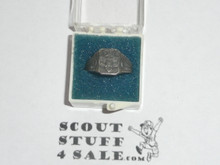 Girl Scout Ring, 1930's, SILVER, tarnished, size unknown