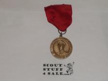 WWII Macarthur Garden Award Medal; Red RIbbon