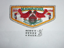 Order of the Arrow Lodge #3 Nawakwa s49 Flap Patch - Boy Scout