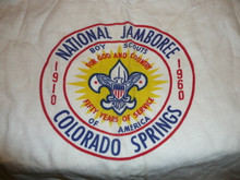 1960 National Jamboree Tee Shirt, Men's Small, Used
