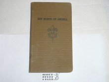 Lefax Boy Scout Fieldbook, Canvas Binding, Includes Numerous BSA and Lefax Inserts
